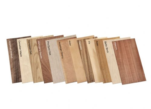Mixed veneer pack. Set of 12 leafs.